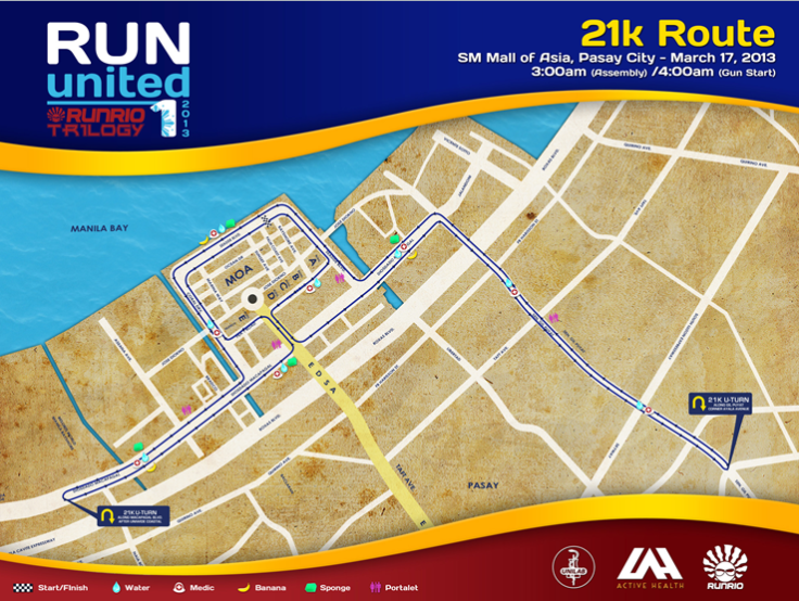 21K Route