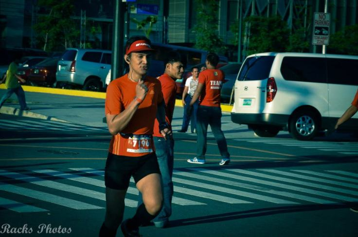 Thanks Baracks Baracael for this photo of me in action along the route.