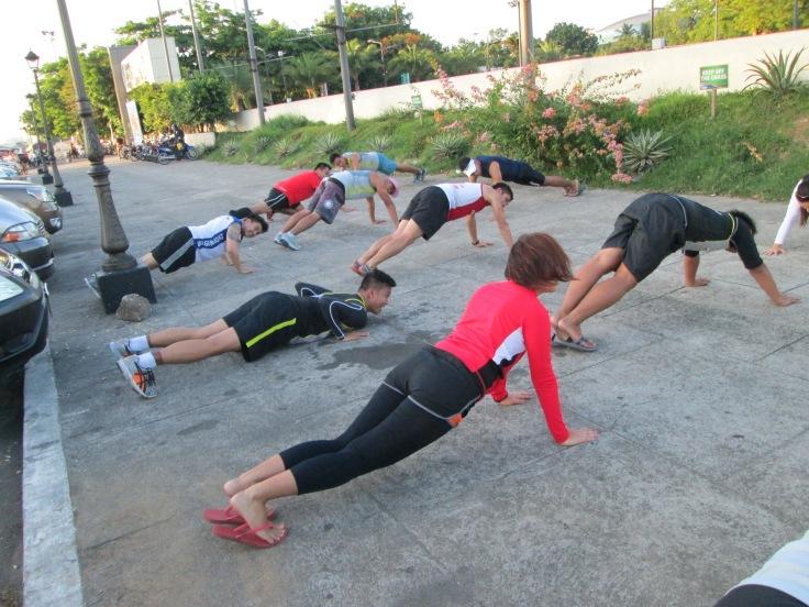 Strengthening exercises still.