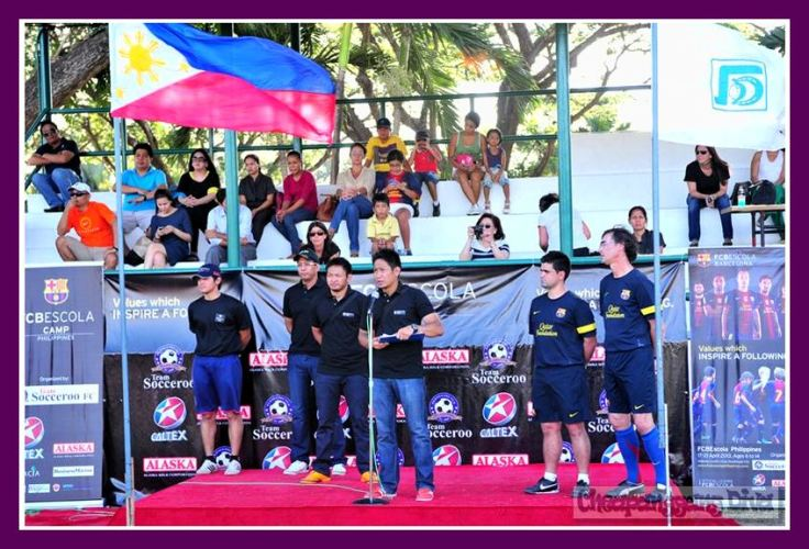 Alaska Milk Corporation brings FCBEscola, the world's No. 1 ranked football club here in the Philippines to help develop children through sports programs such as the FCBEscola Barcelona Camp. The FCBEscola Barcelona Camp has already begun training kids last April 17 and will continue until April 21 at the Ayala Alabang Country Club.