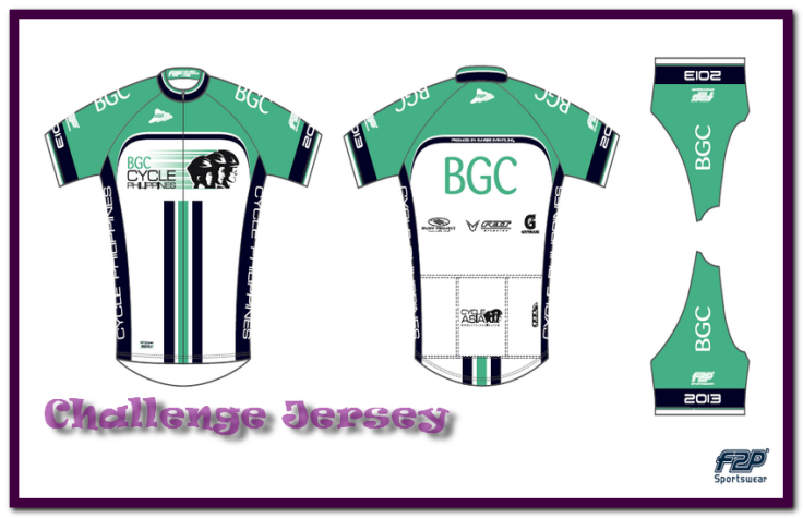 F2P bike jersey