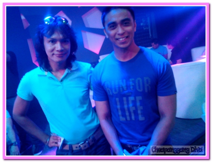 With host Boom Gonzales
