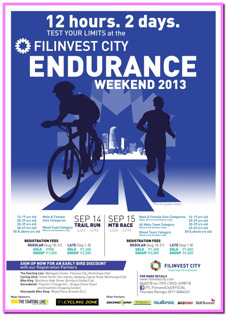 Endurance Weekend 2013 Poster_updated1