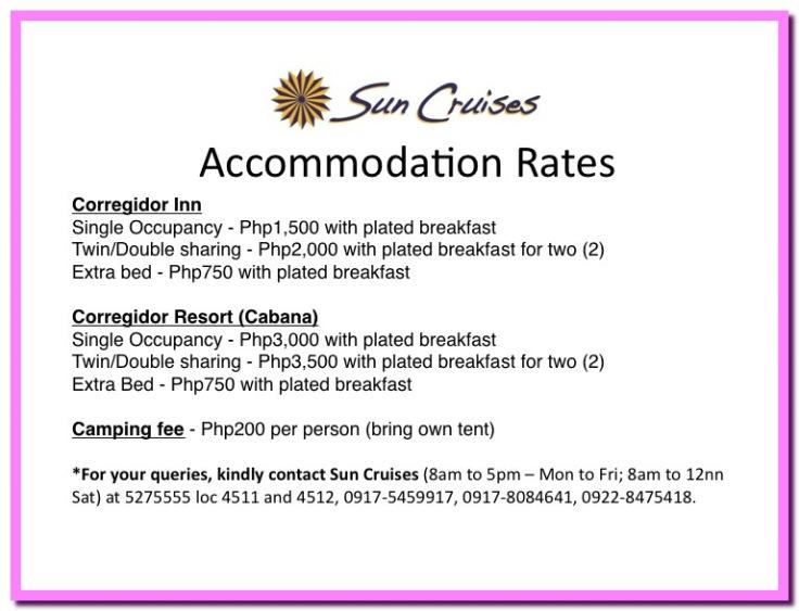 SCI room rates