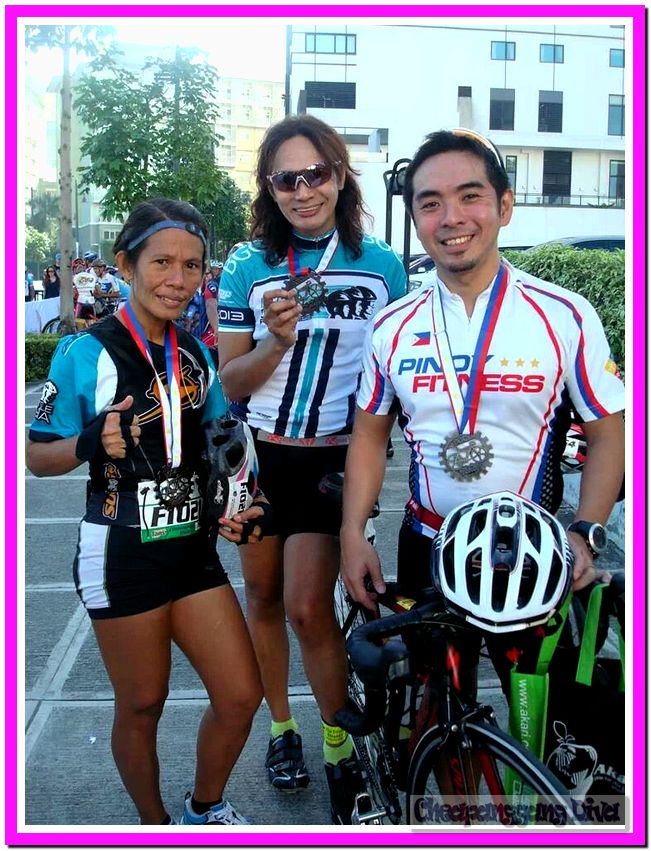 With Coach Mherlz and Sir Jeff Lo of Pinoy Fitness