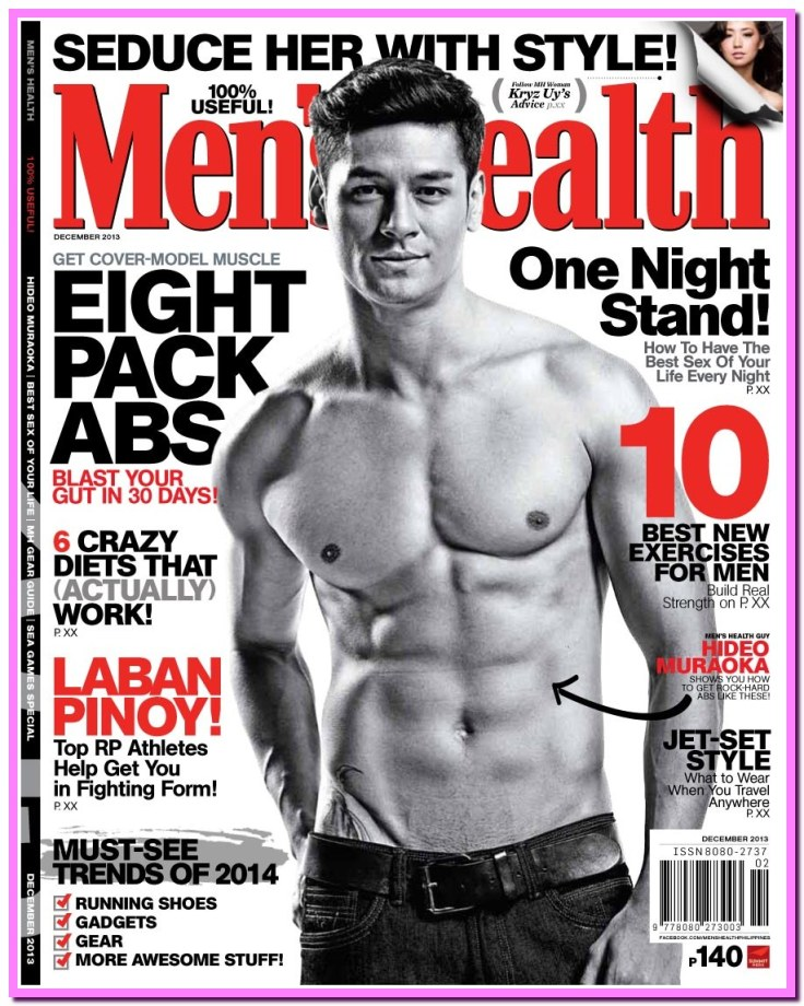 December - Men's Health - Cover