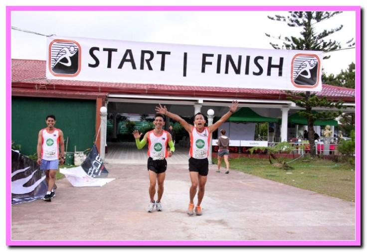 2nd place of Duo Half Marathon, Team A