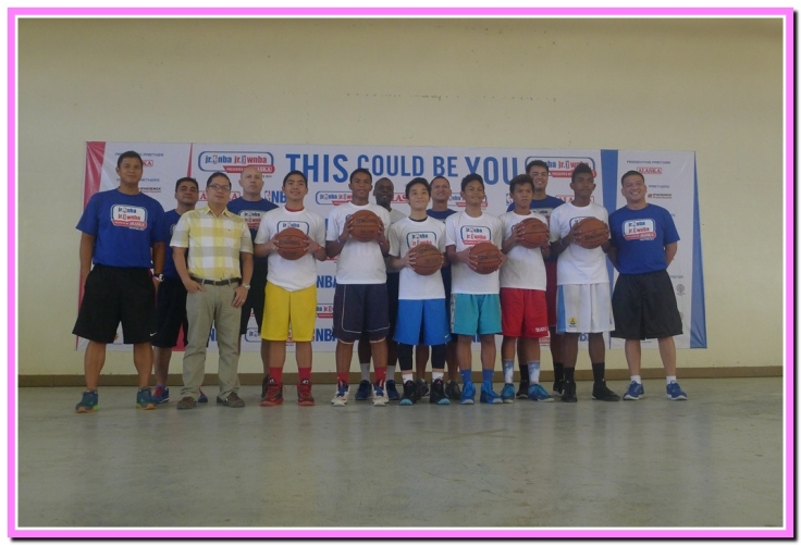 6 boys and 3 girls were the top pick to join the National Training Camp in Manila on April.