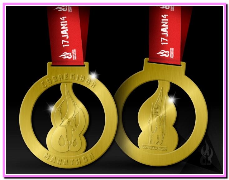 2nd CM finisher's medal Marathon1