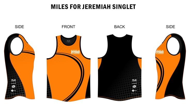 miles jeremiah singlet