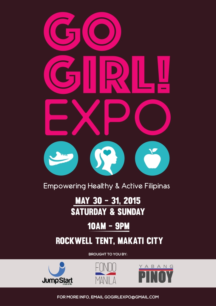 Go Girl May 2015 Rockwell Tent poster