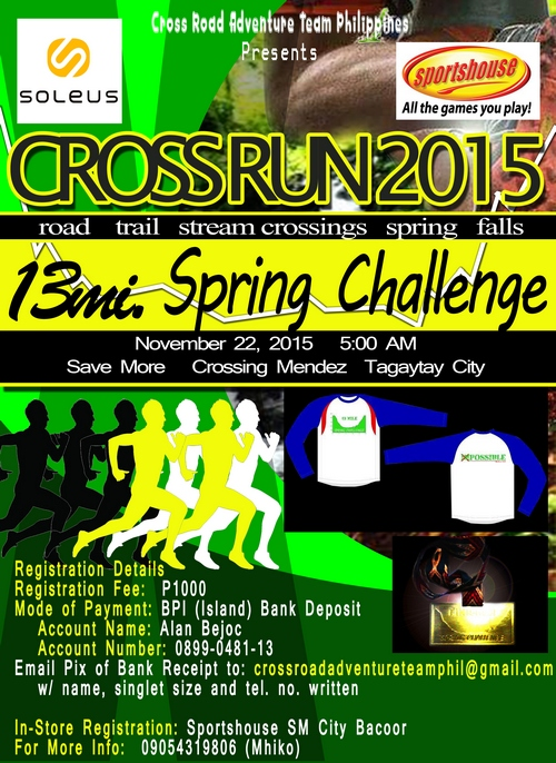 Cross Run 2015 Poster 2a