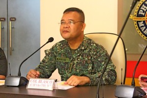 Col Blasco of the Philippine Marines as Race Organizer