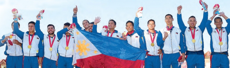 SEA Games-Podium